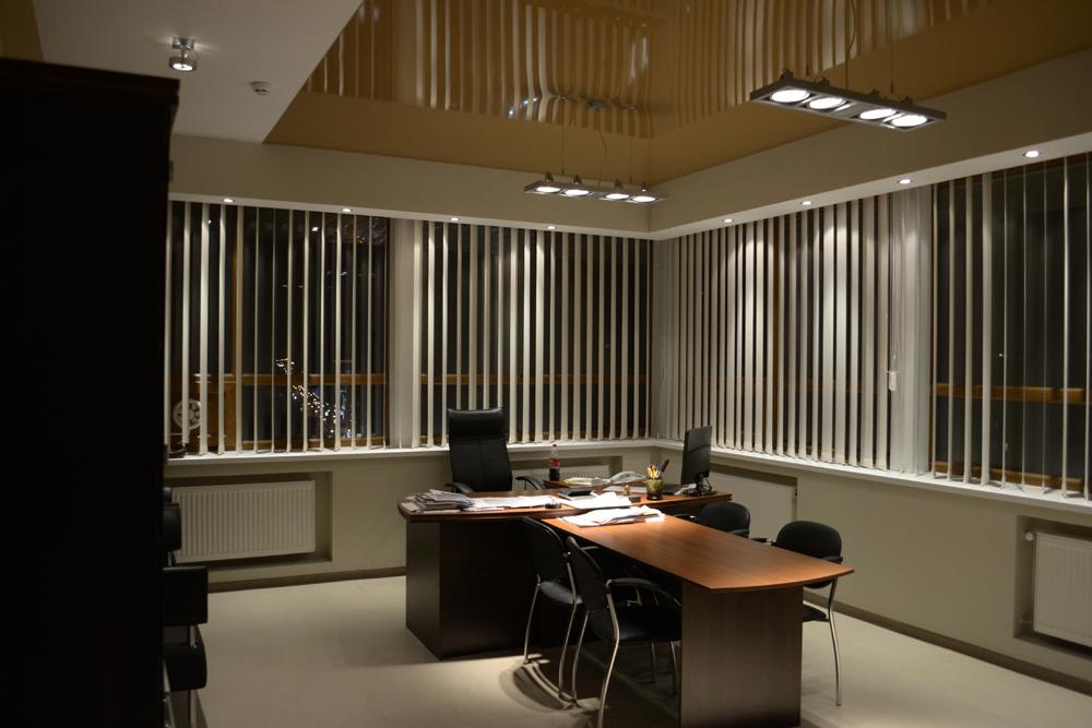 Дизайн интерьера офиса в стиле лофт