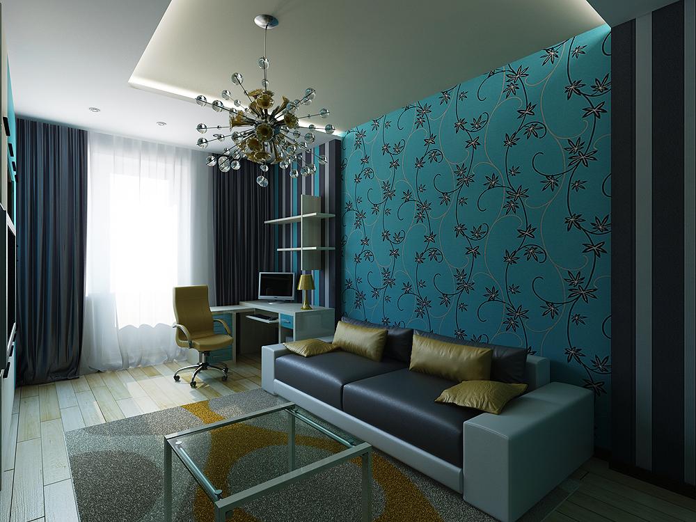 Дизайн интерьеров в стиле авангард