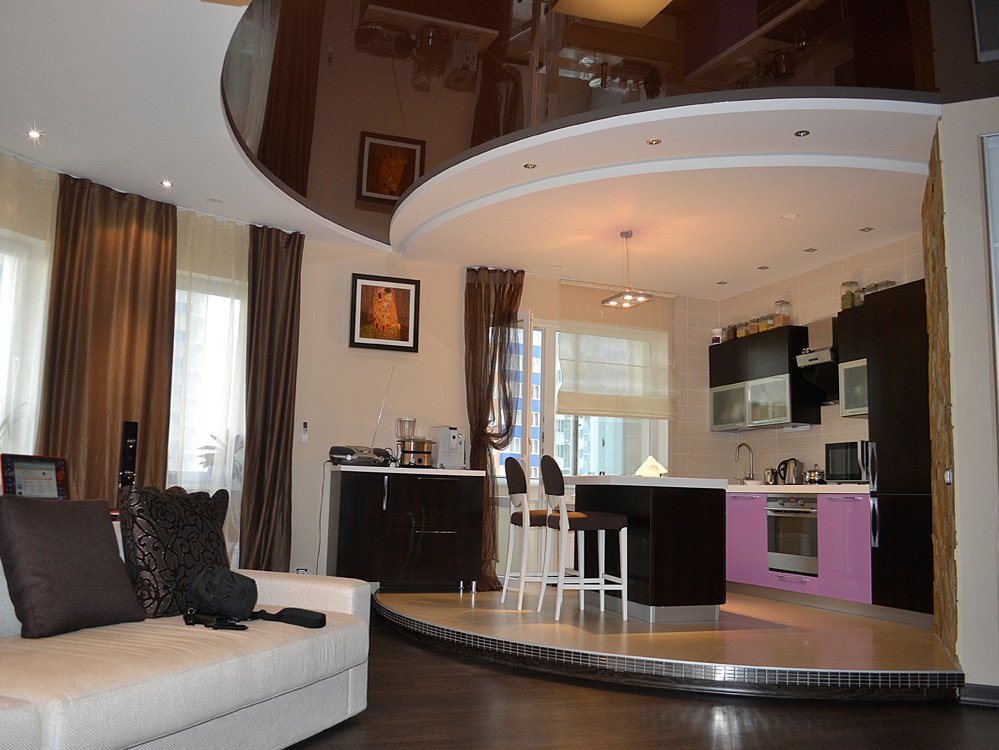 Дизайн интерьера больших квартир