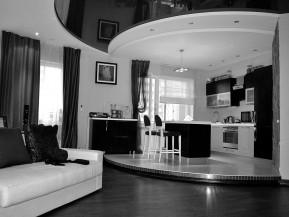 Дизайн интерьера квартиры 140м2 пр. Ленина, 45б. г.Харьков