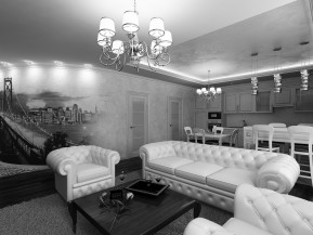 Квартира в стиле Арт-Деко 140м2 ул.Новоалександровская в г.Харькове