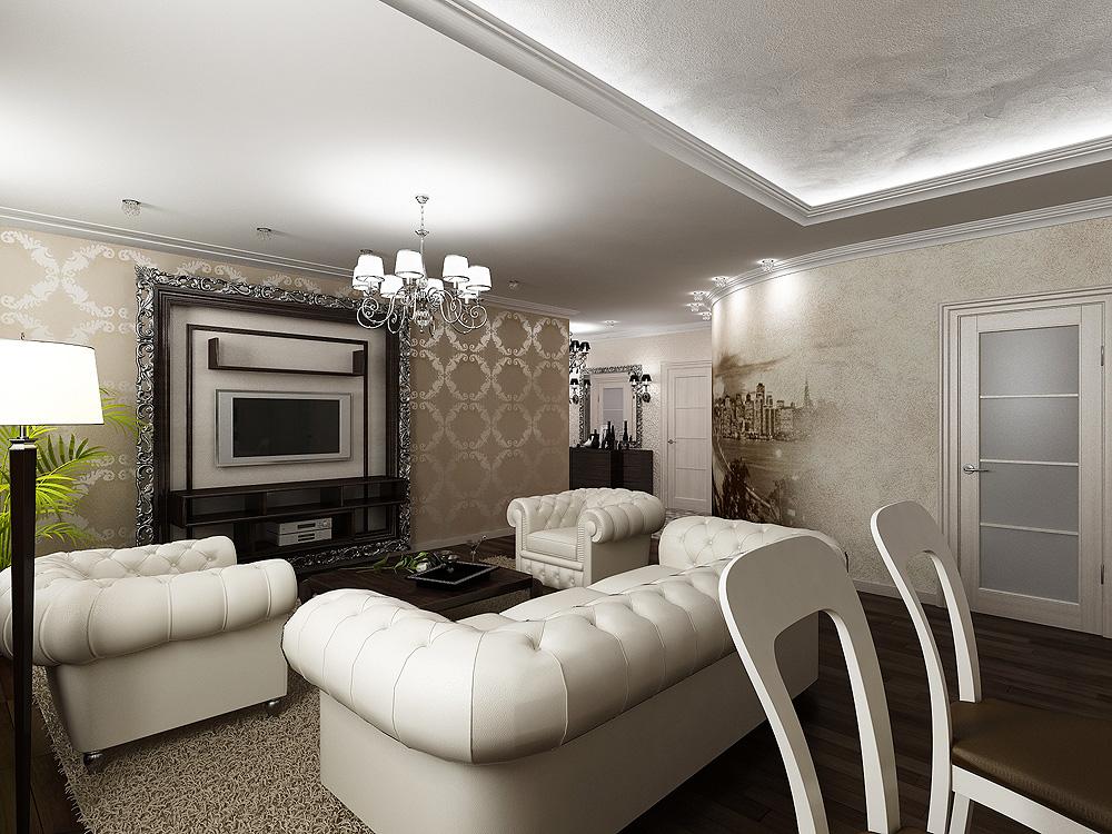 Дизайн интерьеров в стиле Арт Деко