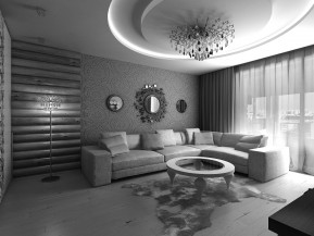 Дизайн квартиры 80,6м2  ул. МЖК Интернационалистов
