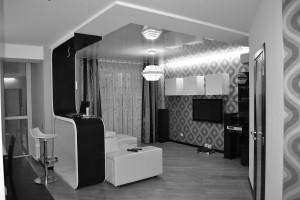 Дизайн квартиры в стиле минимализм ул.Интернационалистов г.Харьков