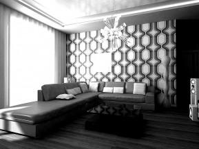 Дизайн трехкомнатной квартиры 80м2 ул. Грековская,5 г.Харьков
