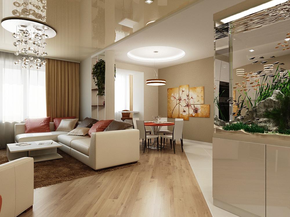 Элитный дизайн интерьера квартир