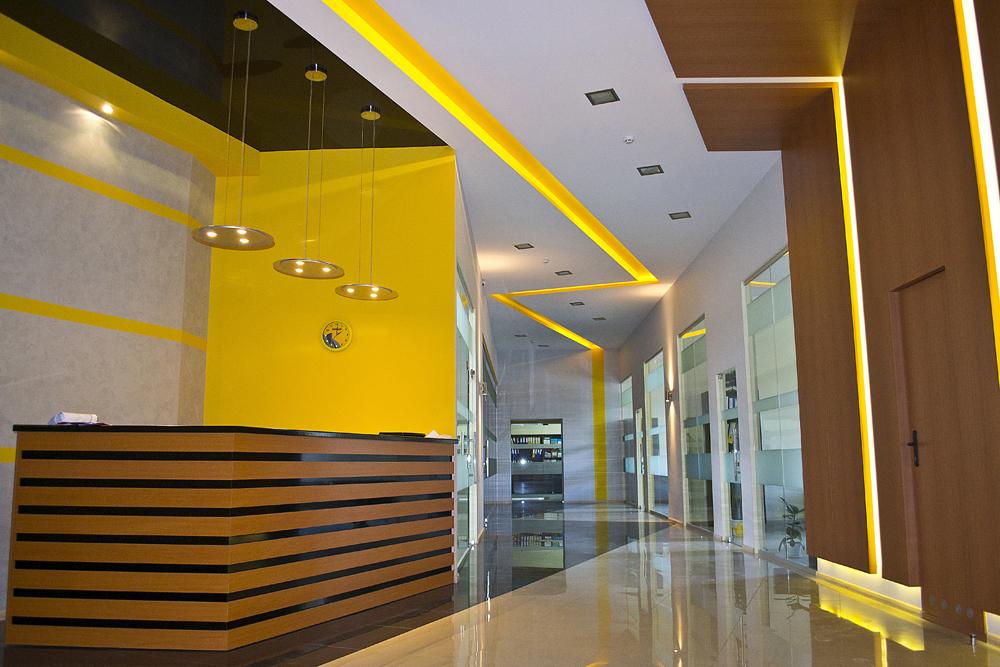 Дизайн интерьера офисов и бизнес-помещений
