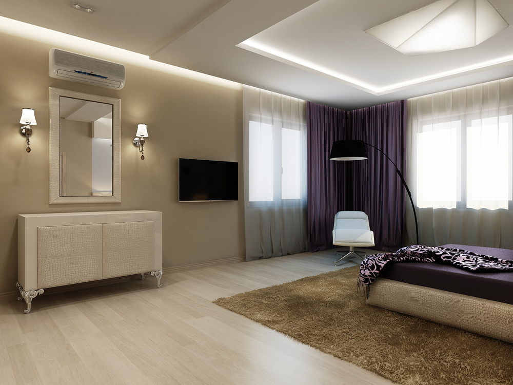Дизайн интерьера спальни (3)watermark