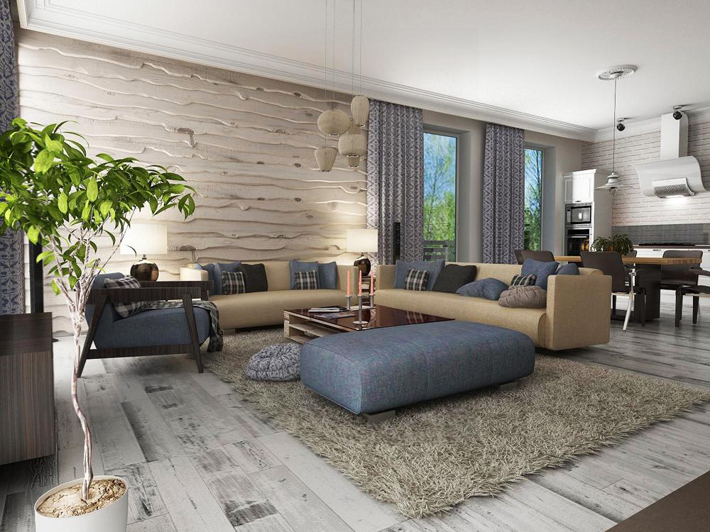 Дизайн интерьера коттеджей и частных домов