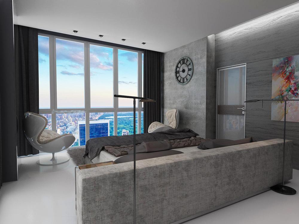 Дизайн интерьеров квартир в стиле модерн