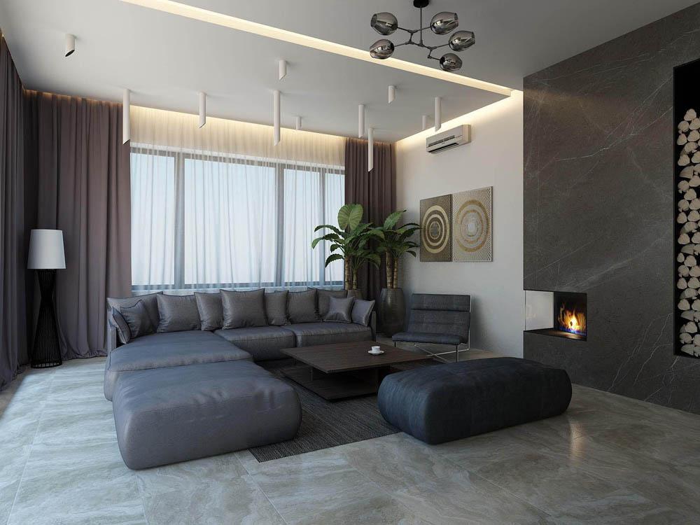 Современный дизайн домов и коттеджей