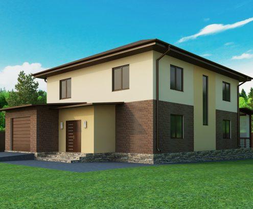 фасад частного дома  (2)watermark