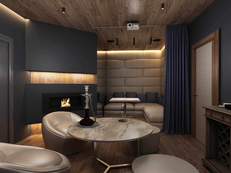Дизайн интерьера караоке бара
