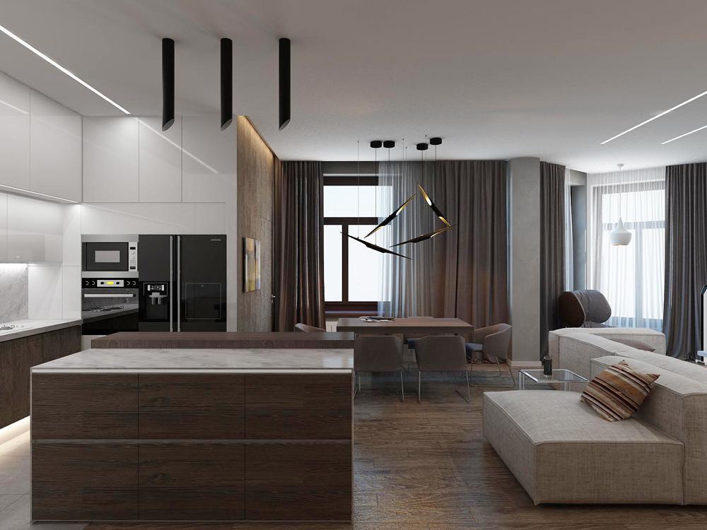 Дизайн интерьеров класса люкс