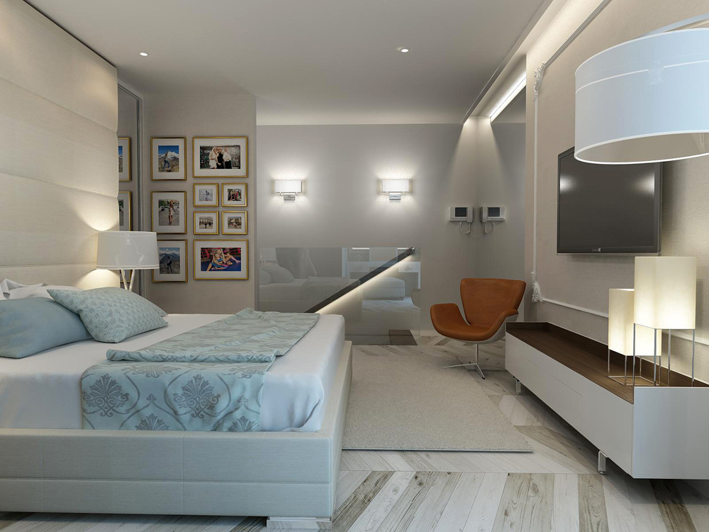 Дизайн двухэтажной квартиры