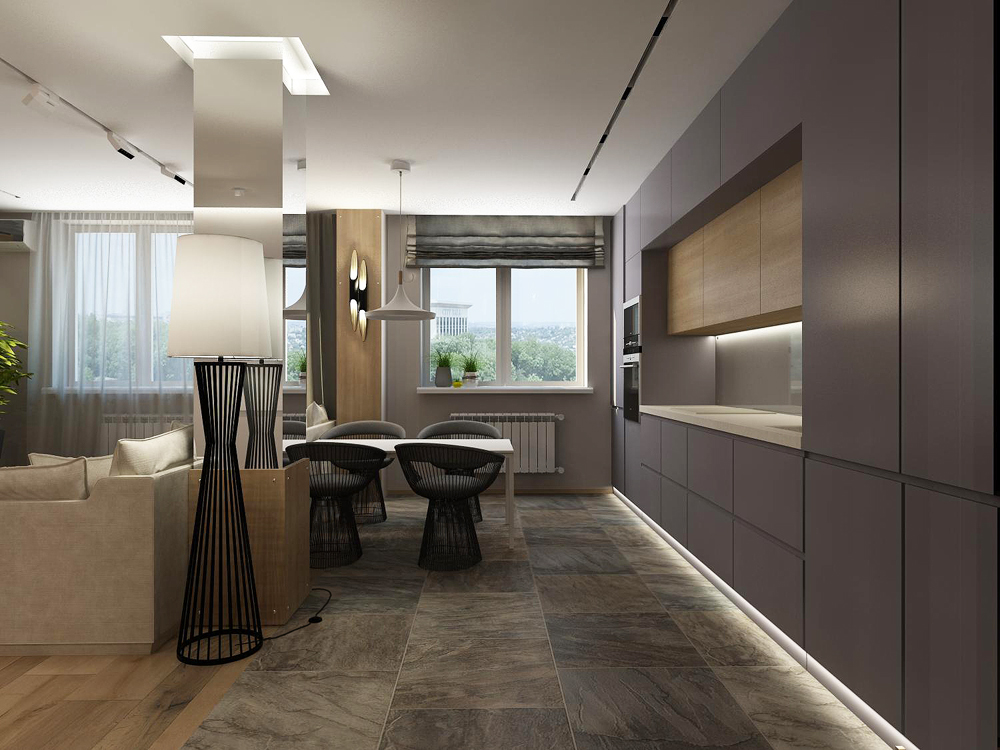 Дизайн интерьера квартир-студий